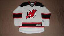 New Jersey Devils White Reebok Youth Size Small/Medium NHL Hockey Jersey
