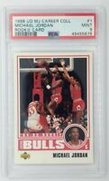 1998 Upper Deck Retro 1984-85 Rookie Michael Jordan #1, Graded PSA 9, Pop 8, 7 ^