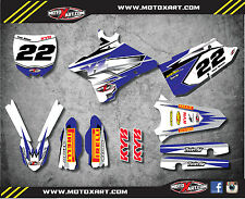 Full Custom Graphic Kit Yamaha YZ 250 - 2015 - 20017 decals SHOCKWAVE style