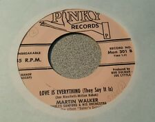 Martin Walker ~ Where Can You Be? / Love Is Everything (They Say It Is)~ (VG++)