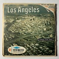 View-Master Los Angeles Famous Cities Series 3 Reel Set. A181 Sawyers