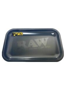 *£10.95* RAW Murder'd Matte Black Small Rolling Tray 275mm x 175mm w/Certificate