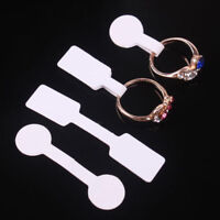 100PCS Jewelry Ring Bracelet Necklace Price Label Sticker Display Tags White New