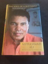 Signed 1st Edition The Soul of a Butterfly Muhammad Ali Hologram COA