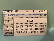The Eagles Concert Ticket Stub 5-4-2004 Tucson Az