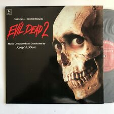 Sam Raimi's Evil Dead 2 Horror Score Lp By Joseph LoDuca Varese Rare Original