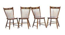 Four American Decorated Side Chairs. Lot 14