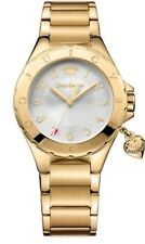 NIB Juicy Couture Rio Watch Gold-Tone Stainless Steel watch@