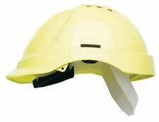 10  Scott HC600V Protector Vented Safety Helmet Hard Hat Sweatband Hi Vis YELLOW