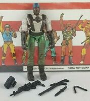 Original 2004 GI JOE HEAVY DUTY V8 ARAH Complete UNBROKEN figure Valor Venom