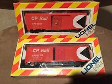 1970's Lionel HO Scale Train Car Canadian Canada CP Rail 41' Box Car 2PC LOT