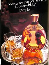 Original Vintage 1970s 'Dimple' Advert Shooting Times & Country Magazine 1974
