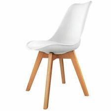 Artiss BA-BB-DSW-PU-WHX4 Set of 4 Dining Chair PU - White