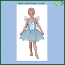 Periwinkle Pirate Playtime Tinker Bell Fairies Friend Costume w Wings S:4-6 Kids