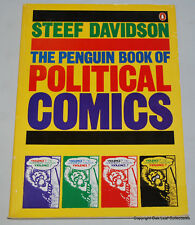 The Penguin Book of Political Comics By Steef Davidson - Free Shipping 1982