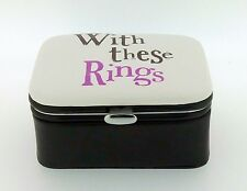 Really Good Bright Side With These Rings Wedding Box Marriage Gift