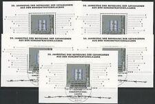 Bund aus 1995 gestempelt Block 32 MiNr. 1796 - Befreiung! 5x Stempel Bonn!