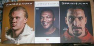 Champions Journal magazine #6 2021 UEFA Champions League. Generation FIFA