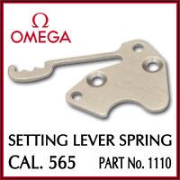 Ω Ω Setting Lever Spring, Swiss Made, Part No. 1110 For OMEGA Cal. 565 Ω Ω