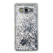 Samsung Galaxy GRAND Prime G530 - HARD+SOFT RUBBER Flowing Liquid Waterfall Case