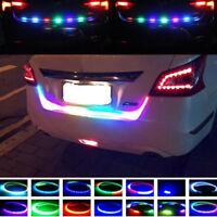 Hot LED Strip Trunk Tailgate Tail Brake Turn Signal Light Flow Colourful Light
