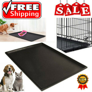 All Size Pet Dog Crate  Pan Plastic Liner  Tray Floor Cage Kennel