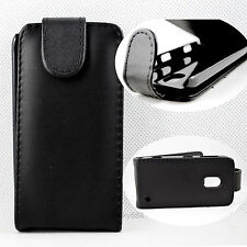 Folding Leather Pouch Flip Skin Protector Case Cover For Nokia Lumia 620