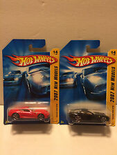 Hot Wheels 2007 FE New Models  Ferrari 599 GTB  2 versions  14/36