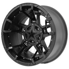 "XD827 Rockstar 3 20x9 5x5.5""/5x150 -12mm Black/Gloss Split Wheel Rim 20"" Inch"