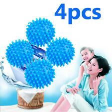 4x WASHING MACHINE DRIER BALLS Tumble Eco-Dryer Clothes Softener Fragranced Ball