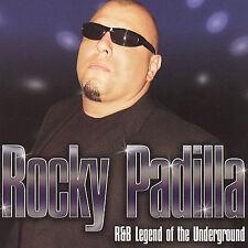 PADILLA,ROCKY-R&B LEGEND CD NEW