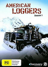 American Loggers - Season 1 / Documentary / Transport - 3 Disc Set - NEW DVD