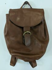 Authentic COACH Leather Small Back Pack Shoulder Backpack Bag USA K5H-4134 A15