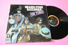 GRAND FUNK LP ON TIME ORIG ITALIA 1970 DEBUT 1° DISCO NM ETICHETTA NERA !!!!!!!!