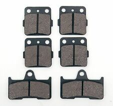 Front & Rear Brake Pads For Yamaha Grizzly  YFM660F YFM660 2006 2007 2008