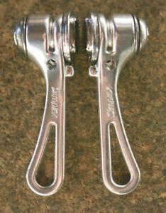 Vintage Simplex SLJ retrofriction frame downtube shifters shifter set