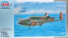 MPM 1/72 MPM72541 Lockheed A-29/PBO-1 Hudson (USAAF/USN)  Model Kit