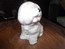Old English Sheepdog Ornament. Hand made by Stonecraft figurines