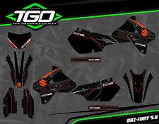 Suzuki DRZ400 SM completo de gráficos Motocross MX Gráficos Pegatinas Kit Calcomanías