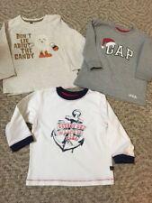 Baby Gap Boys Lot of 3 Long Sleeve Shirts - Size Toddler 3 Years Halloween Xmas
