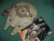 LEGO STAR WARS 7190 MILLENNIUM FALCON   BUILT  W/ BOX & INSTRUCTION 2MINIFIGURES