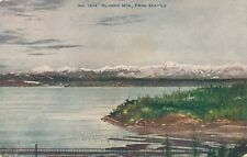 SEATTLE WA – Olympic Mountains from Seattle