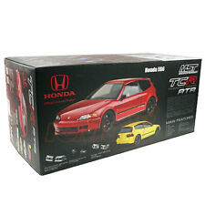 MST TCR-FF 257mm HONDA EG6 Red Pre-Painted Body 1/10 RC Touring RTR Car #531801R