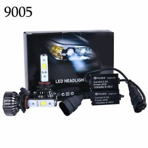 80W 7200LM 9005 HB3 COB LED Lamp Headlight Kit Car High Low Beam Bulbs 6000k 12V