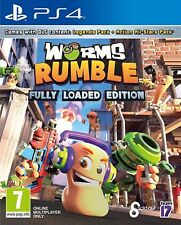 Gusanos Rumble   PS4 PlayStation 4 Nuevo