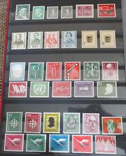 Bund 1955 bis 1960 komplett Postfrische Sammlung - 1956 + 1957 + 1958 + 1959
