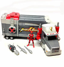 "Morphin Power Rangers Ninja Storm 20 ""Long Mobile HQ TRUCK & figura giocattolo enorme!"