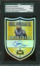 2014 Leaf Valiant ODELL BECKHAM JR. Browns Honor Guard RC Die-Cut GOLD Auto /10