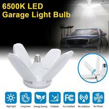 E27 LED Garage Light Bulb Deformable Ceiling Fixture Lights Book Shop work Lamp