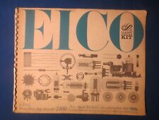 Eico 2400 Construction Manual Factory Original The Real Thing